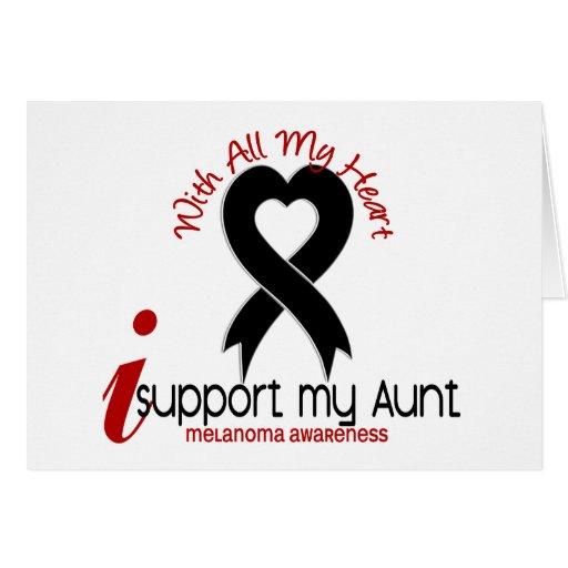 Melanoma I Support My Aunt Card