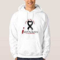 Melanoma I Support My Boyfriend Hoodie