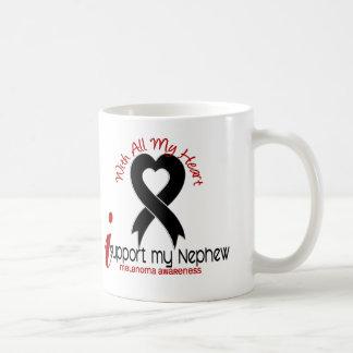 Melanoma I Support My Nephew Coffee Mug