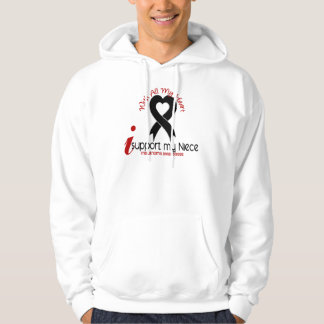 Melanoma I Support My Niece Hoodie