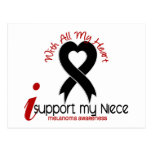Melanoma I Support My Niece Postcard