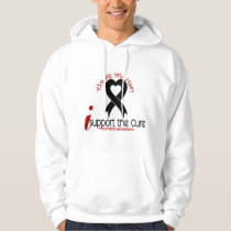 Melanoma I Support The Cure Hoodie