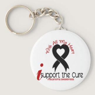 Melanoma I Support The Cure Keychain