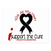 Melanoma I Support The Cure Postcard