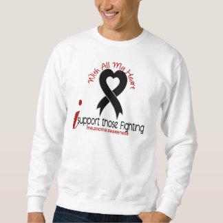 Melanoma I Support Those Fighting Sweatshirt