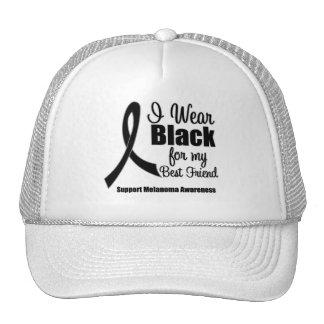Melanoma I Wear Black For My Best Friend Trucker Hat