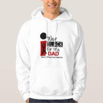 Melanoma I Wear Black For My Dad 9 Hoodie