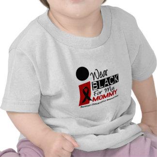 Melanoma I Wear Black For My Mommy 9 T-shirt