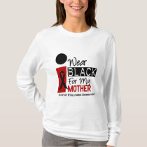 Melanoma I Wear Black For My Mother 9 T-Shirt