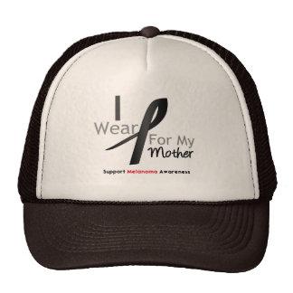 Melanoma I Wear Black For My Mother Trucker Hat