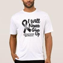 Melanoma I Will Never Give Up Shirt