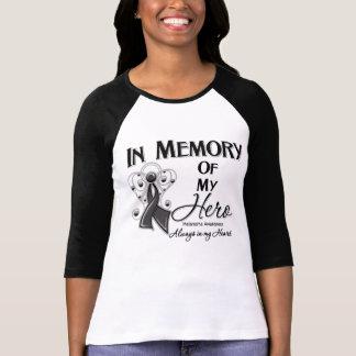 Melanoma In Memory of My Hero Tee Shirt