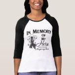 Melanoma In Memory of My Hero Tshirts