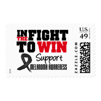 Melanoma In The Fight To Win Stamp
