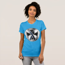 Melanoma Iron Cross Ladies Jersey T-Shirt
