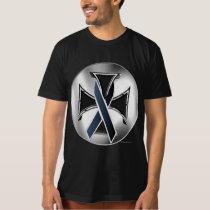 Melanoma Iron Cross Men's Organic T-Shirt