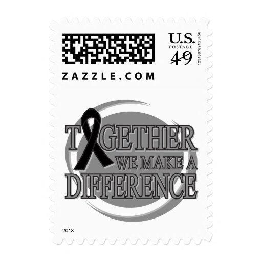 Melanoma juntos diferenciamos sellos