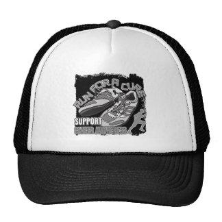 Melanoma - Men Run For A Cure Mesh Hats