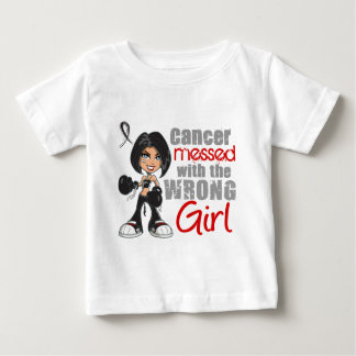 Melanoma Messed With Wrong Girl.png Baby T-Shirt