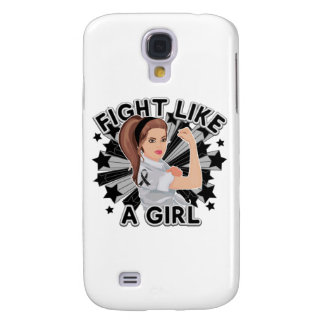 Melanoma Modern Rosie Fight Galaxy S4 Case