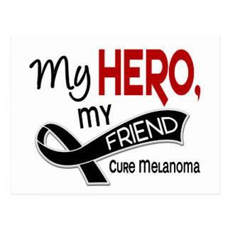 Melanoma MY HERO MY FRIEND 42 Postcard