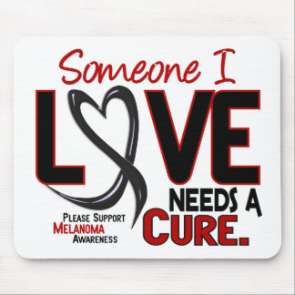 Melanoma NEEDS A CURE 2 Mouse Mat