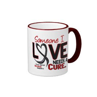 Melanoma NEEDS A CURE 2 Ringer Coffee Mug