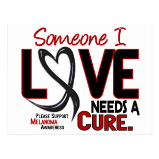 Melanoma NEEDS A CURE 2 Postcard