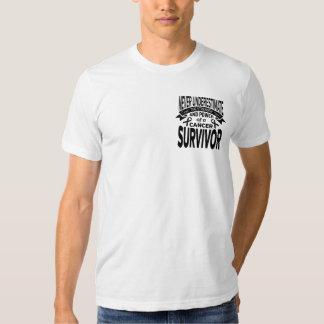 Melanoma  Never Underestimate Strength Tshirt