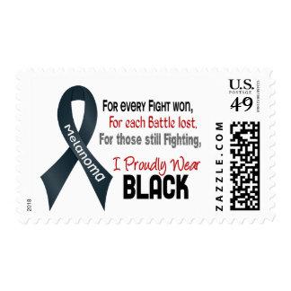 Melanoma para cada ..... llevo orgulloso el negro timbre postal