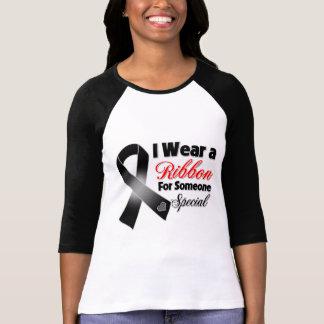 Melanoma Ribbon Someone Special T-Shirt