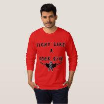 Melanoma Rock Star Men's Long Sleeve Shirt