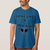Melanoma Rock Star Men's Organic T-Shirt