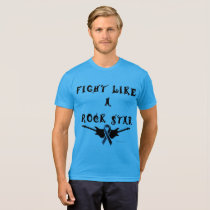 Melanoma Rock Star Men's Poly-Cotton T-shirt