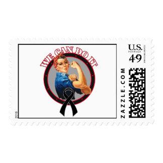Melanoma - Rosie el remachador - podemos hacerlo Timbre Postal