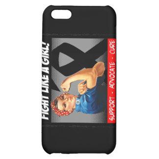 Melanoma Rosie Riveter - Fight Like a Girl iPhone 5C Case