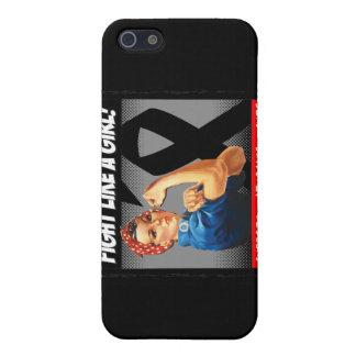 Melanoma Rosie Riveter - Fight Like a Girl iPhone 5 Case