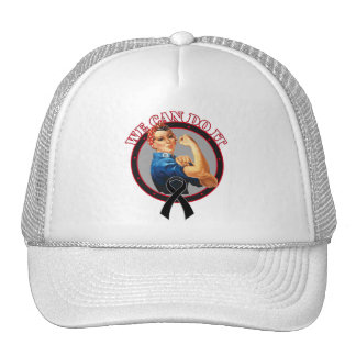 Melanoma - Rosie The Riveter - We Can Do It Trucker Hat