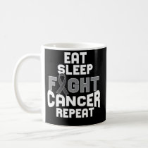 Melanoma Skin Cancer Awareness Coffee Mug Black
