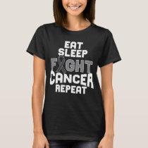 Melanoma Skin Cancer Awareness Shirt Black Ribbon