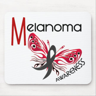 Melanoma / Skin Cancer BUTTERFLY 3.1 Mouse Pad