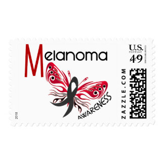 Melanoma / Skin Cancer BUTTERFLY 3.1 Postage