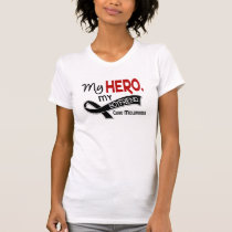 Melanoma Skin Cancer MY HERO MY BOYFRIEND 42 T-Shirt