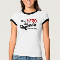 Melanoma Skin Cancer MY HERO MY COUSIN 42 T-Shirt