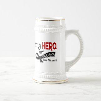 Melanoma Skin Cancer MY HERO MY DAUGHTER 42 Beer Stein