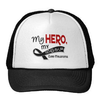 Melanoma Skin Cancer MY HERO MY FATHER-IN-LAW 42 Trucker Hat