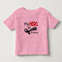 Melanoma Skin Cancer MY HERO MY GRANDFATHER 42 Toddler T-shirt