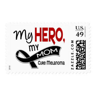 Melanoma Skin Cancer MY HERO MY MOM 42 Postage Stamps
