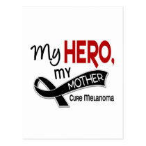 Melanoma Skin Cancer MY HERO MY MOTHER 42 Postcard