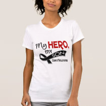 Melanoma Skin Cancer MY HERO MY SON 42 T-Shirt